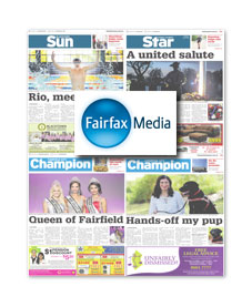 Blacktown Sun / St Marys Star / Fairfield City Champion / Liverpool City Champion – April 2016