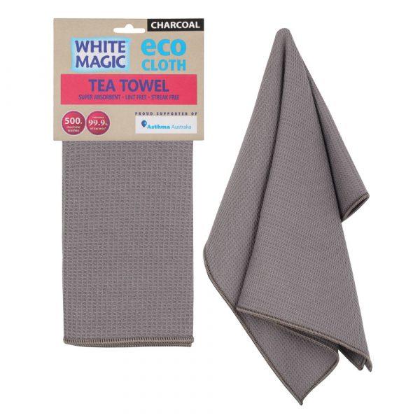 Tea Towel Charcoal