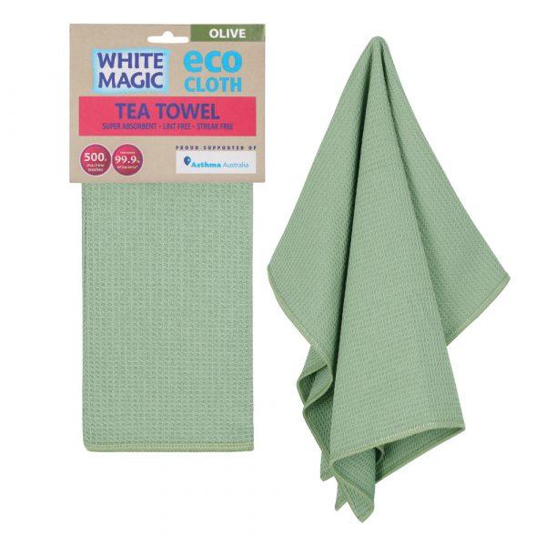 Tea Towel Olive
