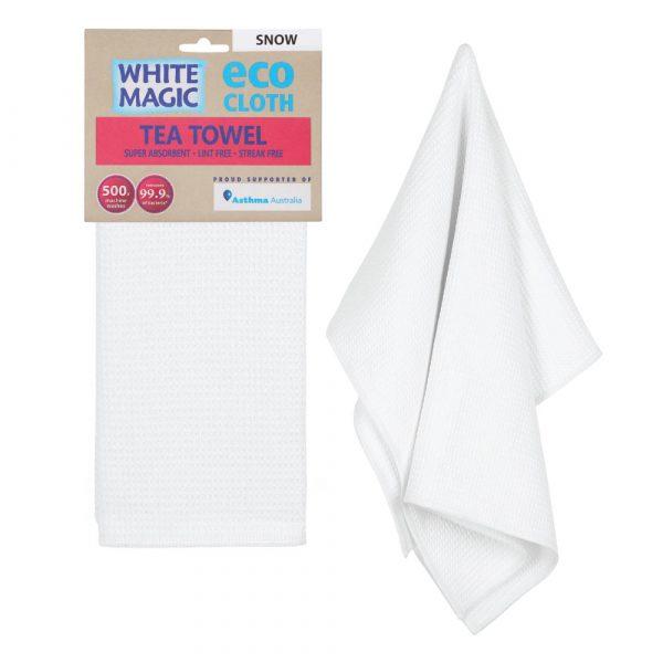Tea Towel Snow