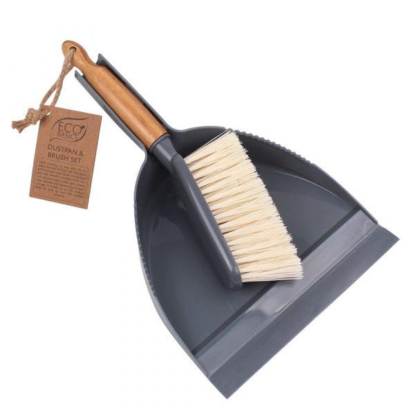 Eco Basics Dustpan & Brush Set
