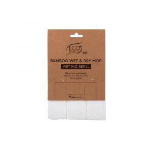Eco Basics Bamboo Wet & Dry Mop Dry Pad