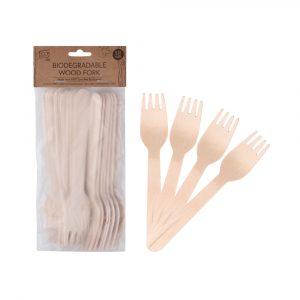 Eco Basics Wood Fork