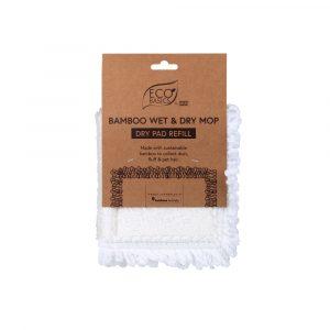 Eco Basics Bamboo Wet & Dry Mop Wet Pad