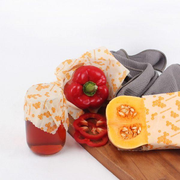 Eco Basics Beeswax Food Wraps