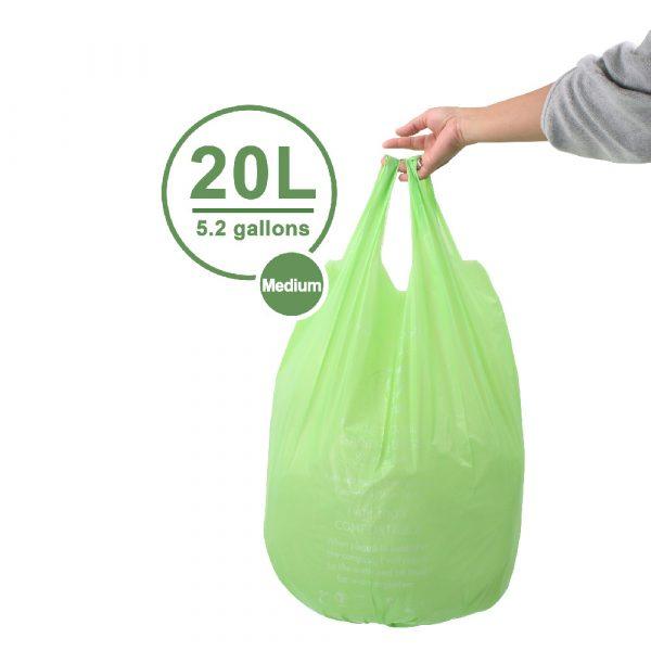 Biodegradable Garbage Bin 20L