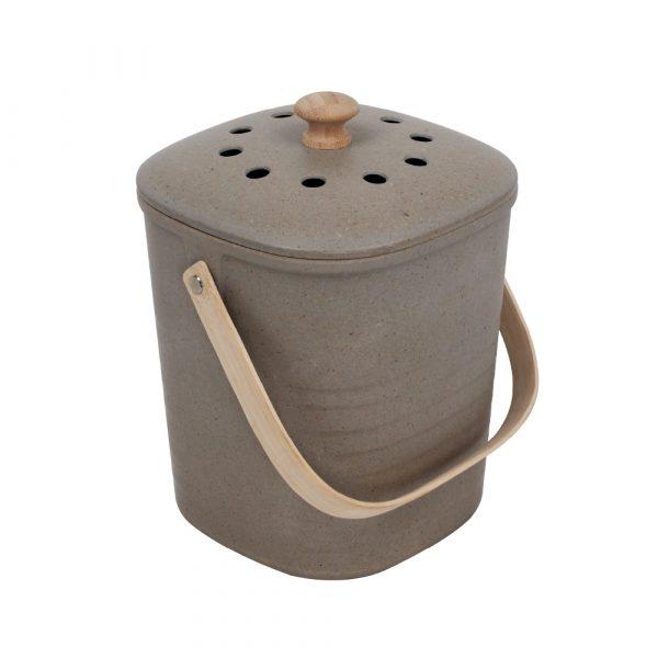 Eco Basics Kitchen Compost Bin Granite