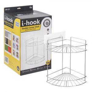 i-hook Double Corner Shelf