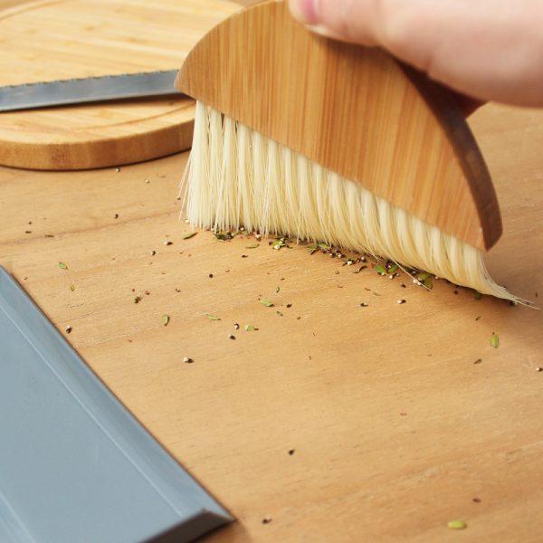 Eco Basics Mini Dustpan & Brush