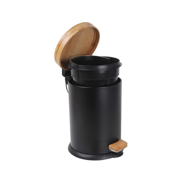 Eco Basics Rubbish Bin 3L Black